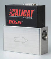 Mass Flow Controller delivers instant-on, real-time operation.