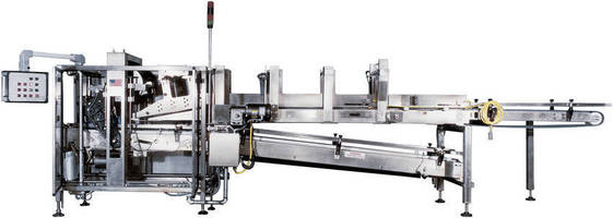 Standard-Knapp 357 Orbitron Continuous-Motion Case Packer Delivers Efficient, Reliable Operation within a Small Footprint