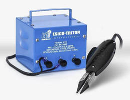 Resistance Soldering Tool is designed for facilitated handling.