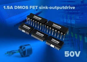DMOS FET Arrays feature 1.5 A sink-output driver.