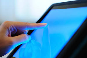 Scratch-Resistant Touchscreen Film enhances electronic designs.