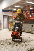 Floor Stripper accommodates breakers from 30-45 lb-ft force.
