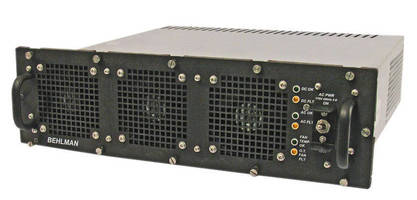 Mission-Critical Power Supplies suit military, industrial use.