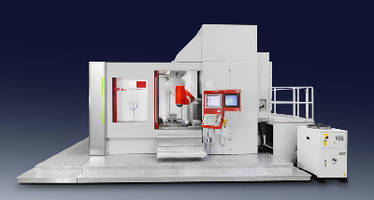 Milling Center handles workpieces up to 2,500 mm diameter.