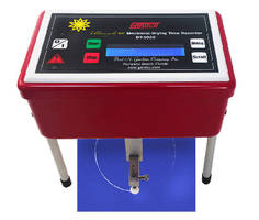 Circular Drying Time Recorder measures RH and temperature.