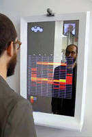 Semi-Transparent Mirrors create dynamic displays and more.