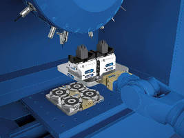 Clamping System handles small precision components.