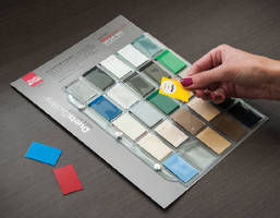 Color Swatch Sample Kits aid architectural bid submittals.