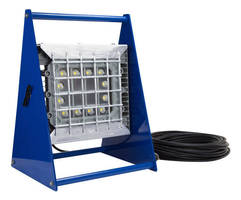 Portable LED Work Light has explosionproof design.