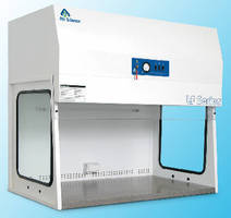 Vertical Laminar Flow Hoods deliver flow velocity of 90 fpm.