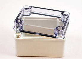 Plastic Enclosures provide impact resistance.