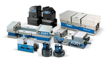 Kurt Workholding to Introduce New 5-Axis Vises and Expanded Line of Small Machine Table Workholding at IMTS 2016 Booth #W-2423