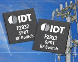 Broadband RF Switches offer optimized isolation, power handling.