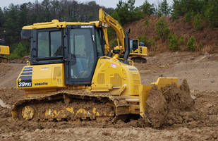 Crawler Dozer promotes productivity through automation.