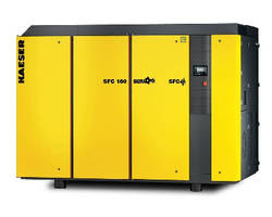 Rotary Screw Compressors feature VFD technology.