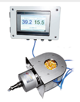 Inline Grain Moisture Meter offers accurate real-time measurement.