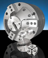 High-Accuracy, 3-Jaw Chuck has side-loading design.