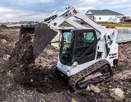Compact Track Loader has 74 hp Tier 4 turbo diesel engine.