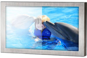 Waterproof 21.5 in. LCD Monitor is optimized for sunlight readability.