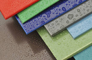Color Concentrates add impact strength to polyolefin sheet.