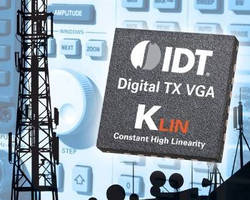 RF Digital VGAs feature constant linearity technology.