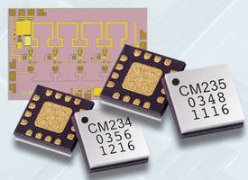 Switches and MMIC Amplifiers deliver ultra wideband operation.