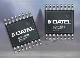 COTS-Grade 12-Bit, 8-Channel ADCs have low-power design.