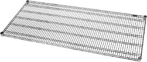 Wire Shelf features heavy-duty design.