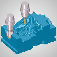 CAD/CAM Software saves time in roughing operations.