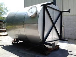 Custom Stainless Steel Tanks for Resin Storage