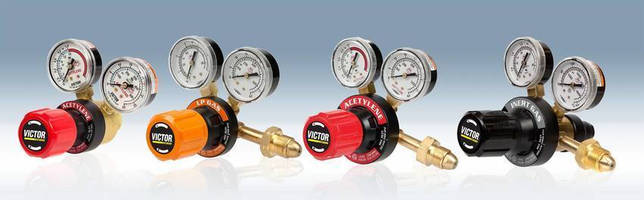 Gas Regulators are designed for visual clarity.