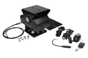 Remote Controlled Pan Tilt Base supports up to 100 lb.