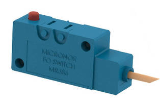 Fiber Optic Microswitch suits MRI and industrial applications.