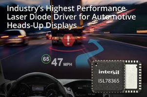 Quad-Channel Laser Diode Driver is designed for Automotive HUDs.