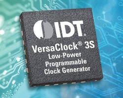 Programmable Clock Generators deliver power, flexibility.