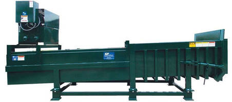 Industrial Stationary Compactor has heavy-duty, 2-cylinder design.