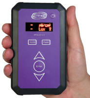 UV/White Light Meter features wireless data transfer.