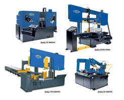 CNC Metal-Cutting Band Saws cover wide range of capabilities.