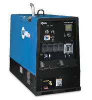 Welder/Generator handles critical repair applications.