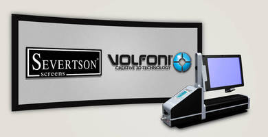 Severtson Screens Features New Volfoni SmartCrystal(TM) Pro Booster 3D Modulator at 2016 InfoComm