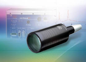Confocal Sensor offers measuring range of 28 mm.