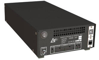 Solid-State Light Source Driver digitally controls 20 sources.