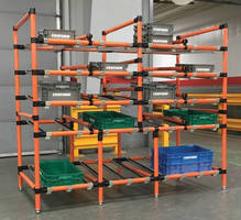 Heavy-Duty Flow Racks handle logistics center demands.