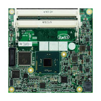 COM Express Module supports Intel Celeron N3xxx processors.