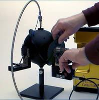 Reflectance/Transmittance Instrument aids plant stress research.