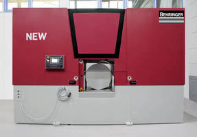 Hydraulic Horizontal Bandsaw meets high-production requirements.