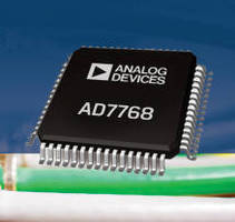 Sigma-Delta 24-Bit ADCs improve signal quality monitoring.