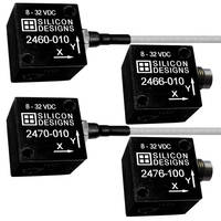Triaxial DC Accelerometers offer low noise, long-term stability.