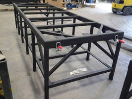 Custom Steel Heavy Duty Shop Tables for Tampa Conveyor Parts Supplier