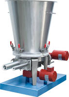 Dry Solids Volumetric Feeders have slow-rotating agitator.